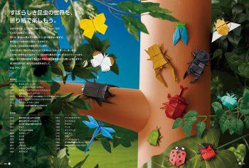Insecten vouwen zonder knippen of snijden 2
