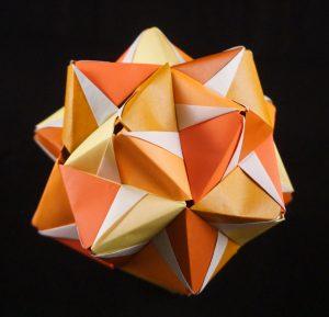 kusudama origami bal