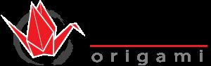 Tsuru origami logo transparant