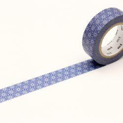 blauwe washi tape
